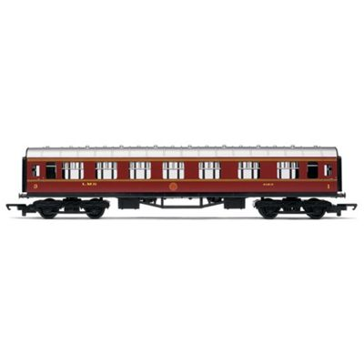 HORNBY Coach R4388 RailRoad LMS Composite - LMS Maroon