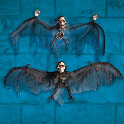 Horror Bat Decoration - 80cm Halloween Prop