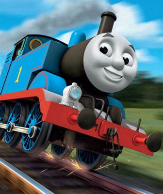 Walltastic Thomas The Tank Engine Wall Mural 8ft x 6.5 ft