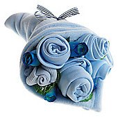 Traditional Baby Blues Clothes Bouquet