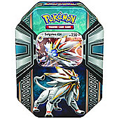 "Pokemon ""Legends of Alola GX Tin"" Card Game - Solgaleo Tin"