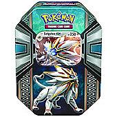 """Pokemon """"Legends of Alola GX Tin"""" Card Game - Solgaleo Tin"""