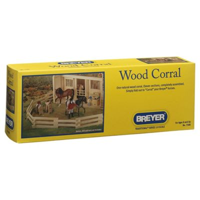Breyer 1:9 Scale Wood Corral