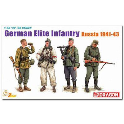Dragon 6707 German Elite Infantry Russia 1941-43