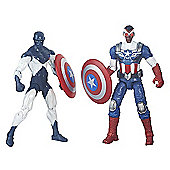 Marvel Legends Comic Series Figure 2 Pack - Shield Wielding Heroes