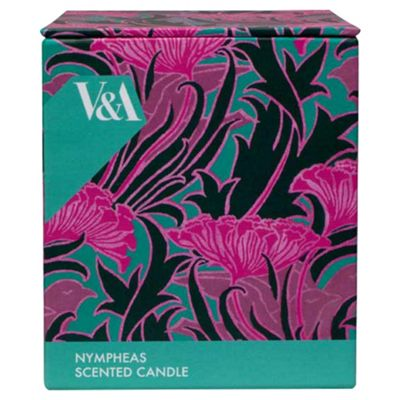 V&A Jar Candle in Gift Box Nympheas