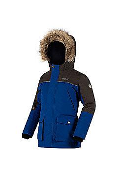 Regatta Paxton Hooded Parka Jacket - Blue