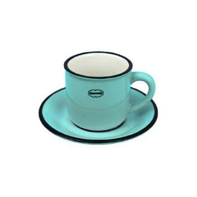 Cabanaz Espresso Cup & Saucer in Arctic Blue