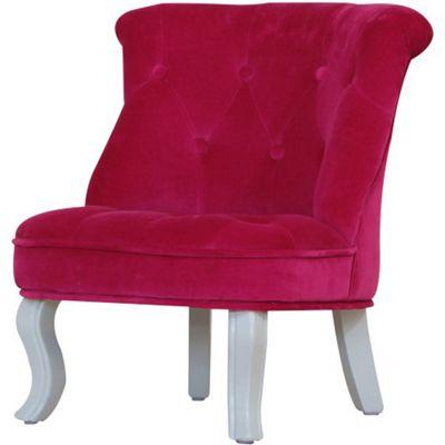 Kidsaw Mini Chair Cabrio Pink Velvet