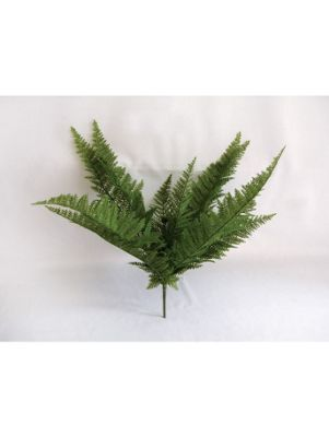 Artificial - Fern Feather Bush
