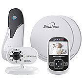 Motorola MBP26 BabySense Video Baby Monitor