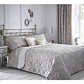 Dreams n Drapes Jade 229x195cm Bedspread - Stone