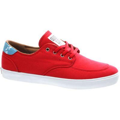 Lakai Belmont Red Canvas Shoe