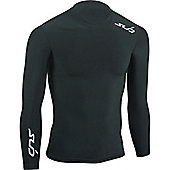 Subsports Cold Long Sleeve Thermal Top Adult - Black