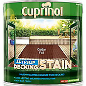 Cuprinol Anti Slip Decking Stain - Cedar Fall - 2.5 Litre