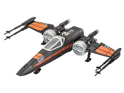 Revell Poes X-Wing Fighter Model Kit - Arts and Crafts