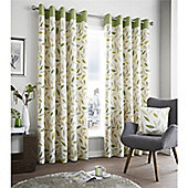 Fusion Beechwood Curtains - Green