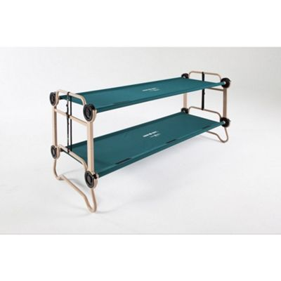 Discobeds Cam-o-Bunk XL 19792B XL, Adult Camping Bunk Bed