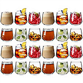 Argon Tableware 'Talllo' Water / Whisky / Juice Tumbler Glasses - Party Pack Of 24 Glasses 345ml (12.1oz)