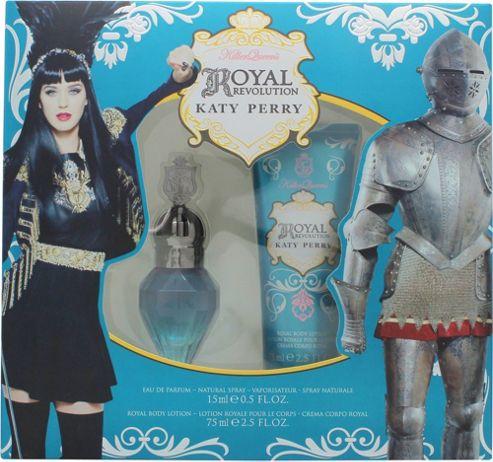 Katy Perry Royal Revolution Gift Set 15ml EDP + 75ml Body Lotion For Women