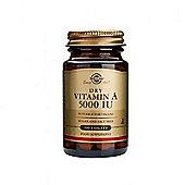 Solgar Dry Vitamin A 5000iu Tablets 100