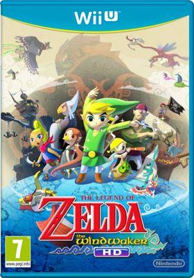 Wii U The Legend Of Zelda: Wind Waker Hd