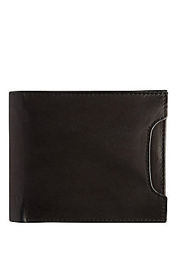 F&F Leather Bifold Wallet with Card Holder