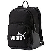 Puma Phase Sports Backpack Rucksack Bag - Black
