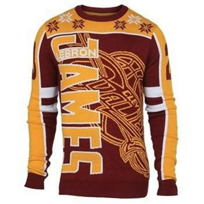 NBA Basketball Cleveland Cavaliers Lebron James #23 Player Ugly Sweater - XL