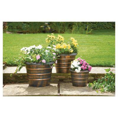 Pk of 3 Beehive Planters