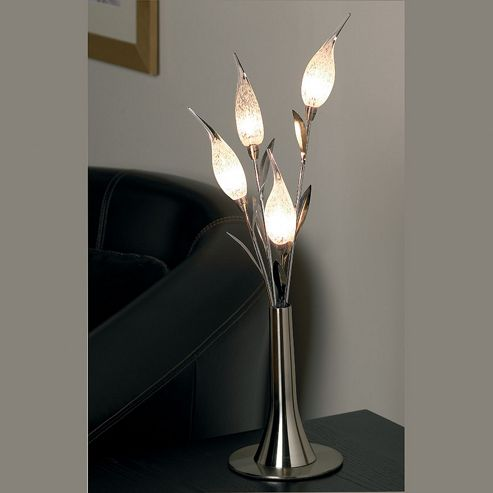 Endon Lighting Bouquet Four Light Table Lamp