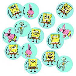 Spongebob Squarepants Confetti Card Party Accessories