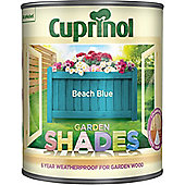 Cuprinol Garden Shades - Beach Blue - 1 Litre