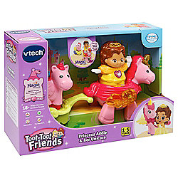 Vtech Toot-Toot Friends Kingdom Princess Addie and her Unicorn