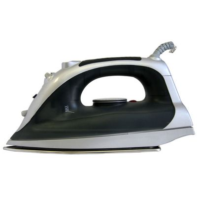 Sabichi Steam Iron in Black and Silver