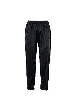 Trespass Qikpac Packaway Trousers - Black