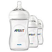 Philips AVENT SCF693/37 Natural 260 ml/9 oz Slow Flow Teat Triple pack