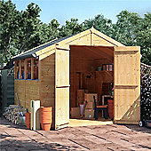 BillyOh Master Tongue and Groove Apex Wooden Garden Shed - 8 x 8 Windowed