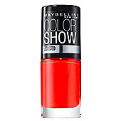 Maybelline Color Show Nail Lacquer 7ml - 191 Orange Fix