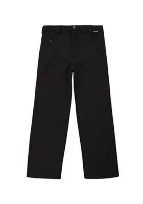 Regatta Fenton Stretch Softshell Trousers Black 3-4 years