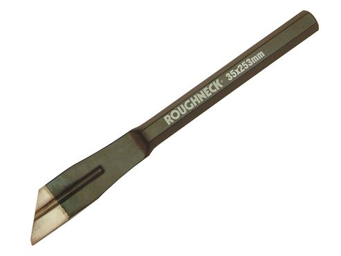 Roughneck Plugging Chisel 32 x 254mm (1.1/4 x 10in) 16mm Shank