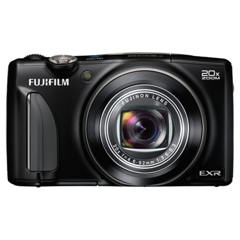 Fuji F900 Digital Camera, Black, 16MP, 20x Optical Zoom, 3