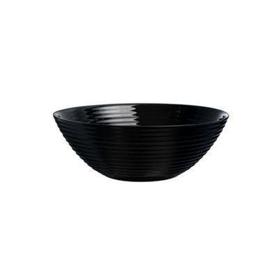 Luminarc Harena Soup Plate, Scratch Resistant, 23.5cm (Black)