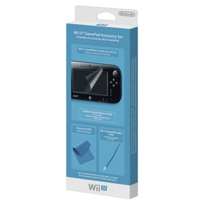 Nintendo GamePad Accessory Set (WiiU)