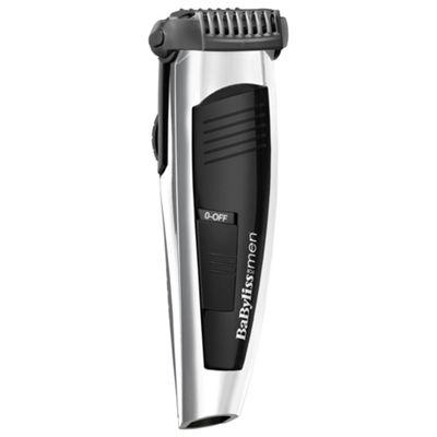 BaByliss 7848U Battery Stubble Trim Beard Shaper - Silver