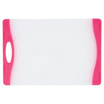 Kitchencraft Colourworks Chopping Board Pink