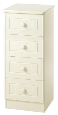 Welcome Furniture Warwick 4 Drawer Chest - Cream