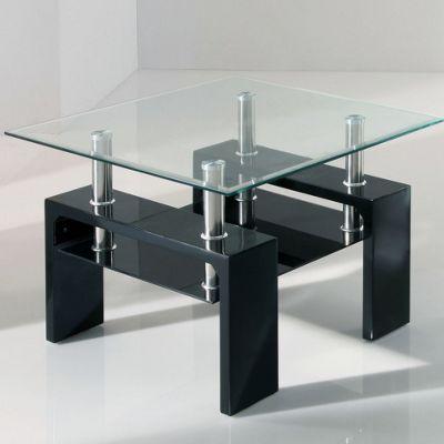 Wilkinson Furniture Calico Lamp Table - Black