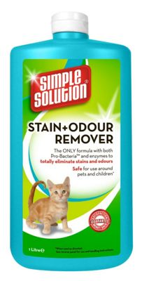 Simple Solution Cat Stain & Odour Remover 1 Litre