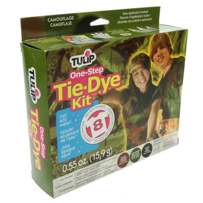 Tulip Camouflage One-Step Tie-Dye Kit